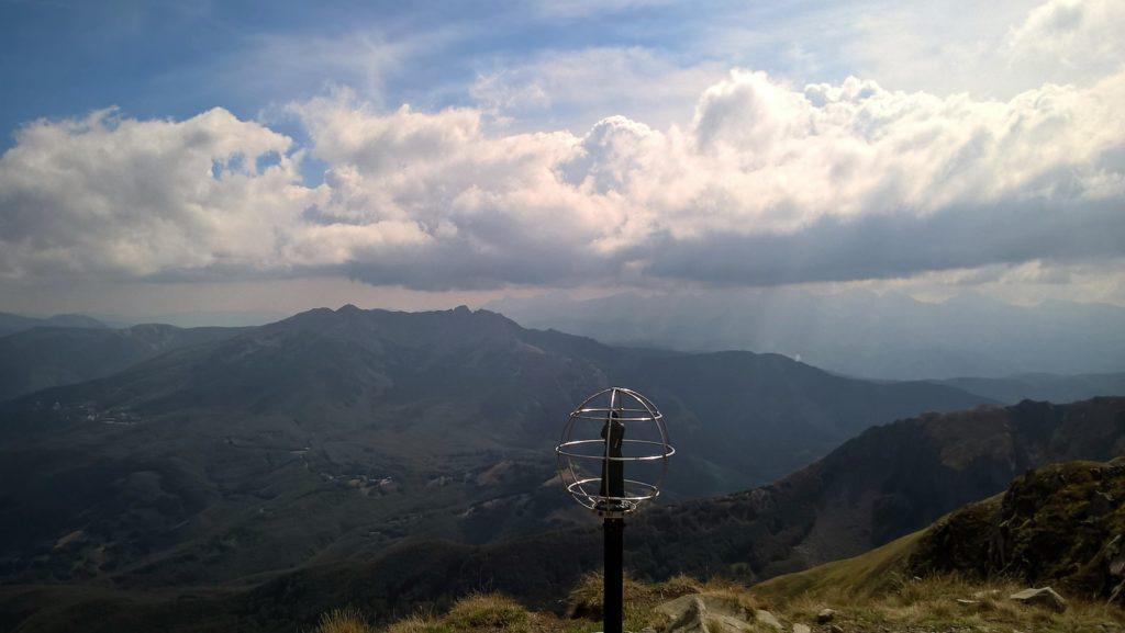 Panoramica dall'Alpe di Succiso