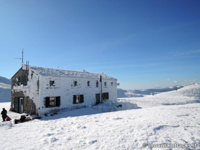 rifugio duca degli abruzzi, lago scaffaiolo