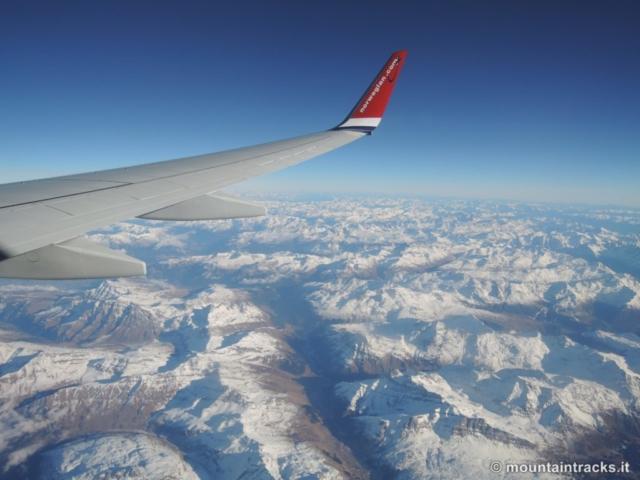Alpi, volo, aereo