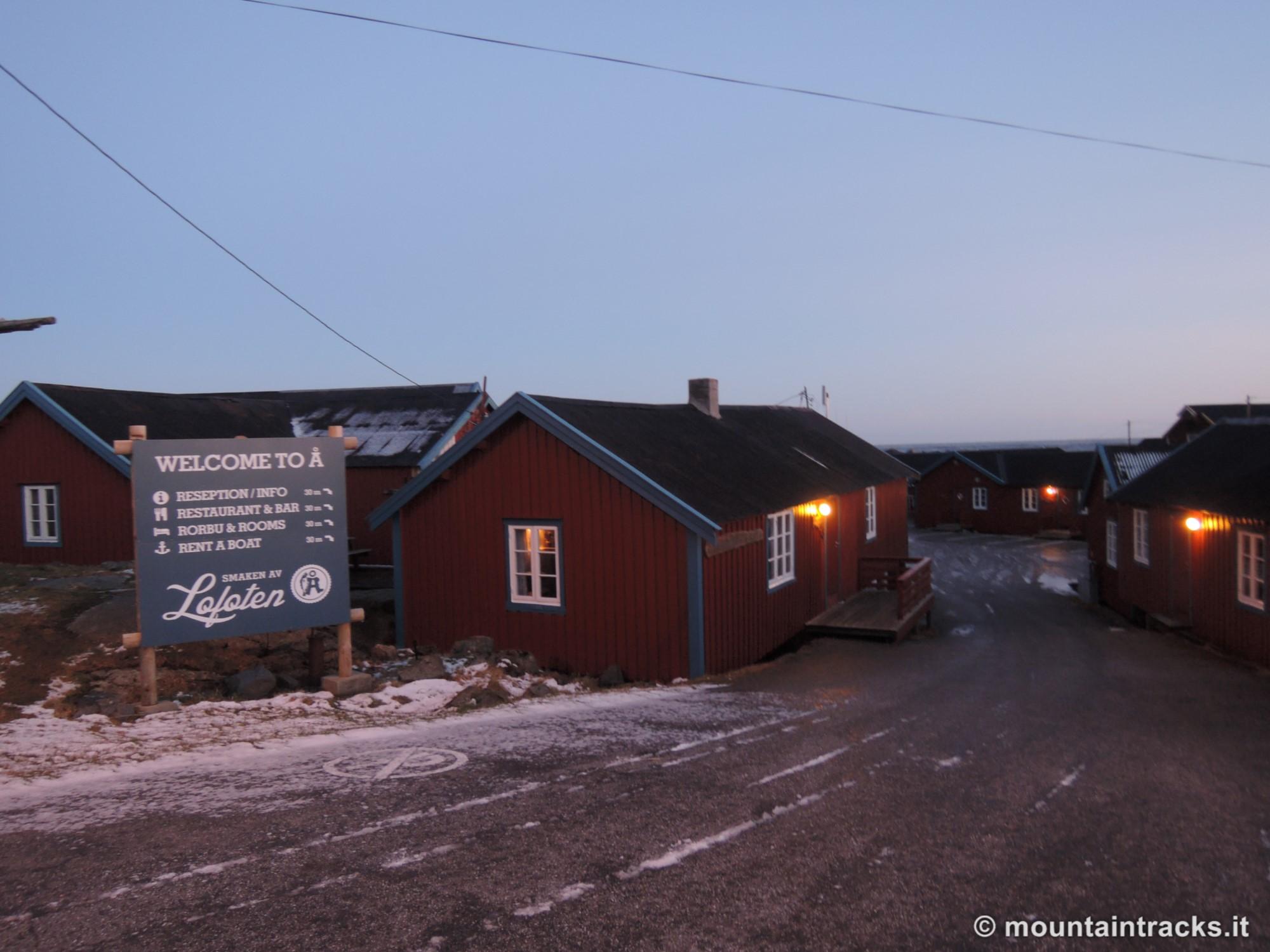 Å i Lofoten village