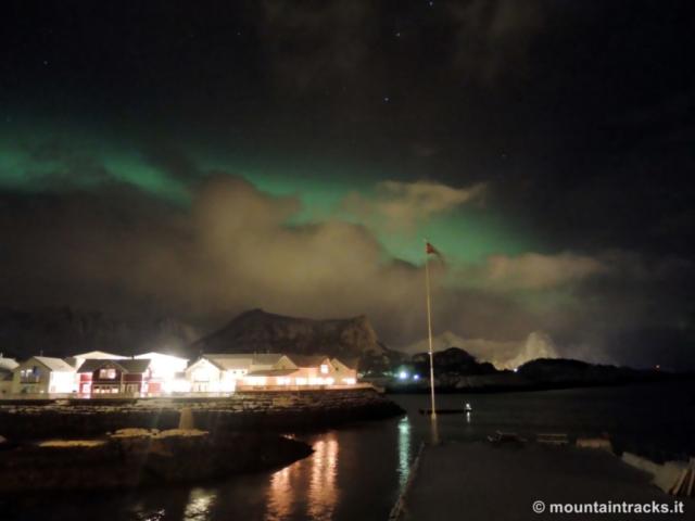 Aurora boreale, Kabelvåg, northern lights