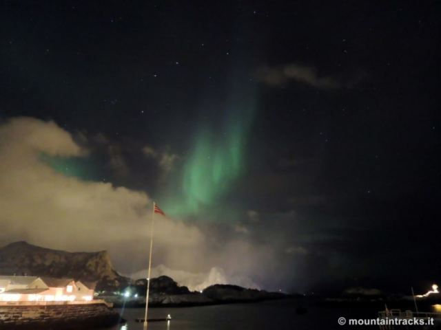 Aurora boreale, kabelvag, northern lights