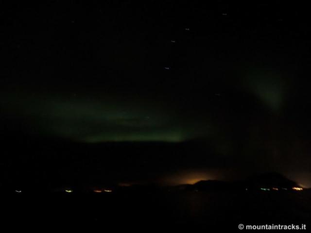 Hurtigruten, aurora, northern lights, lofoten