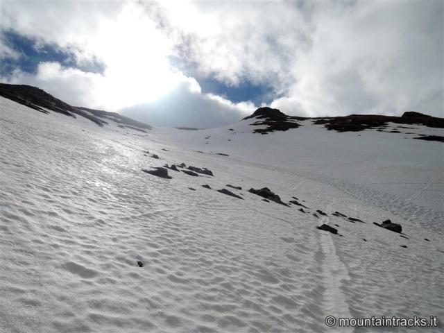 skialp snow sun