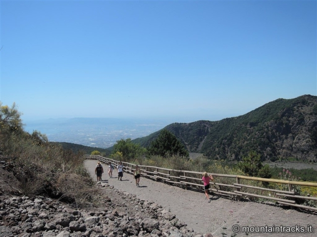 Vesuvio hiking