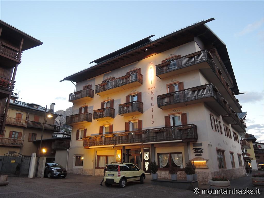 Cortina, hotel Aquila