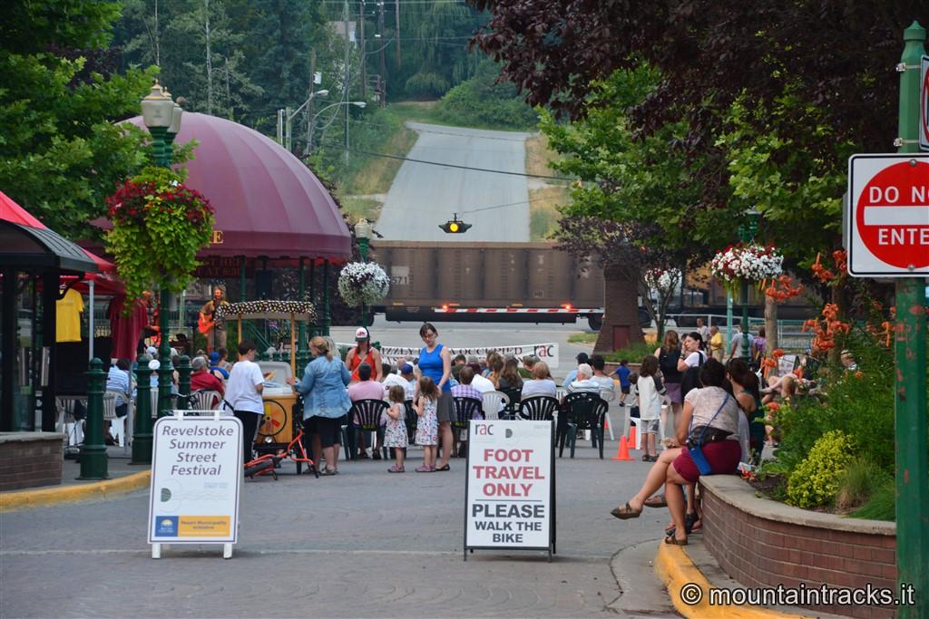 Revelstoke Summer street festival