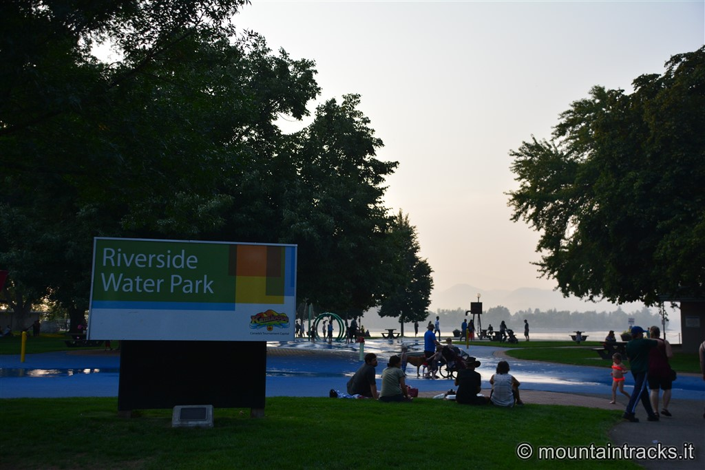 Riverside water park