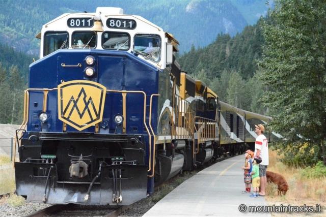 Rocky mountains train