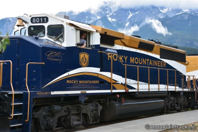 Rocky mountains train
