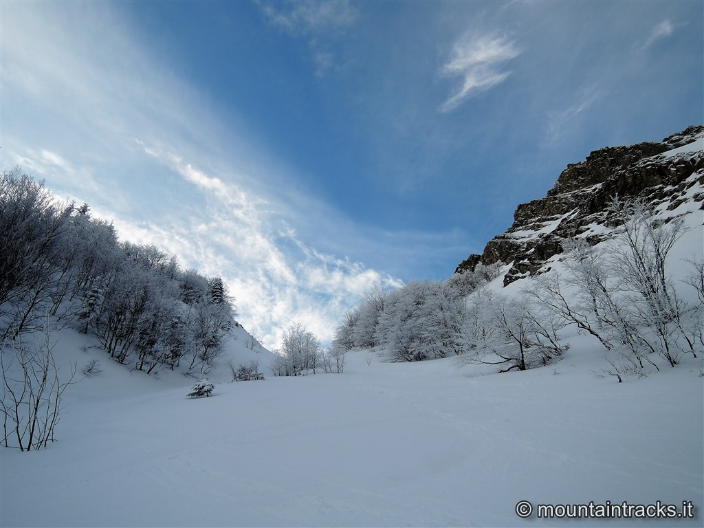 snow powder appennino