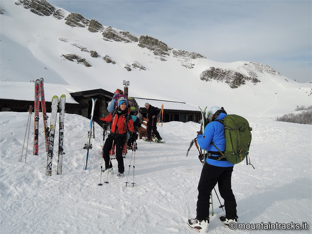 Bivacco Lago Nero - Skialp