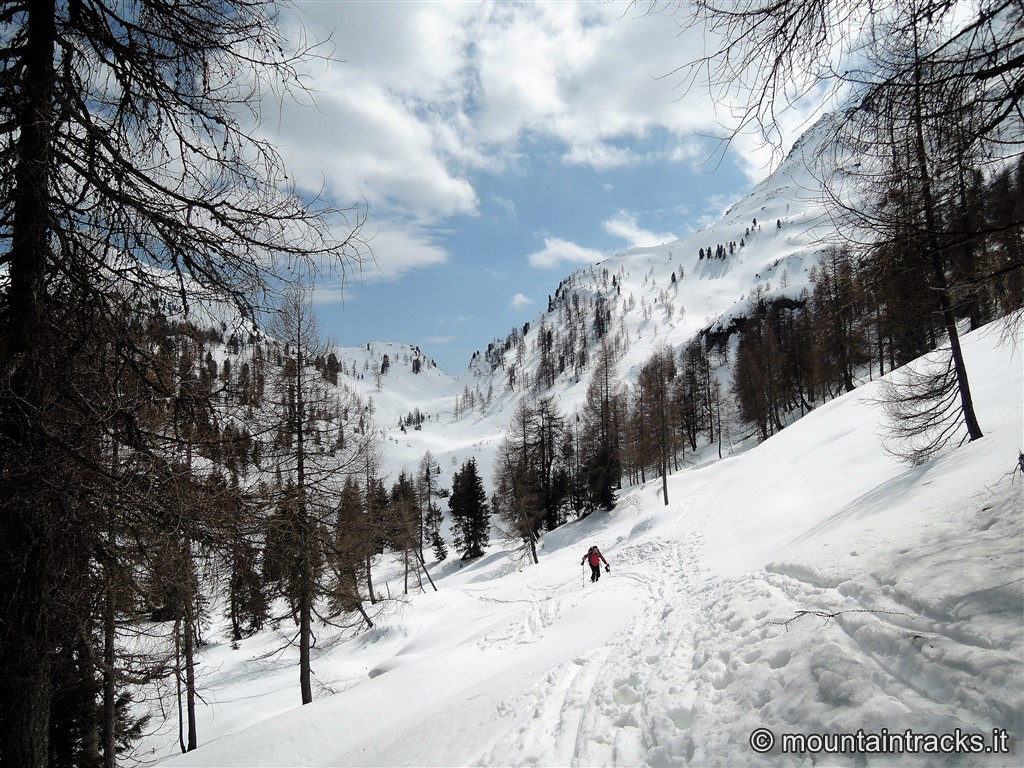 snow dolomites colbricon dolomiti skialp